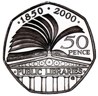 150year Library Anniversary Coin